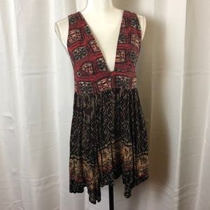 Free People Noyale Heat Wave Tunic Dress
